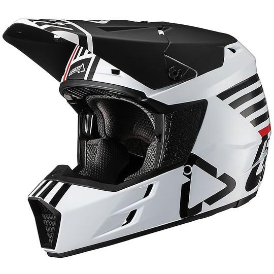 Casque Moto Cross Enduro Leatt GPX 3.5 V19.2 Blanc