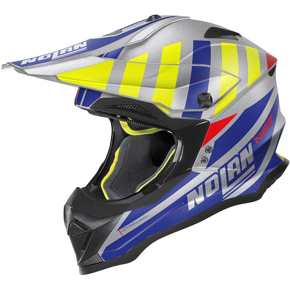 Casque Moto Cross Enduro Nolan N53 CLIFFJUMPER 074 Matt Grey