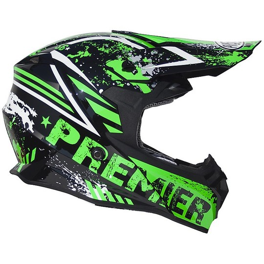 Casque Moto Cross Enduro Premier EXIGE 2017 ZX7
