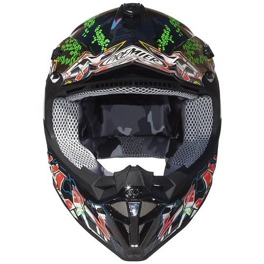 Casque Moto Cross Enduro Premier EXIGE  GR9