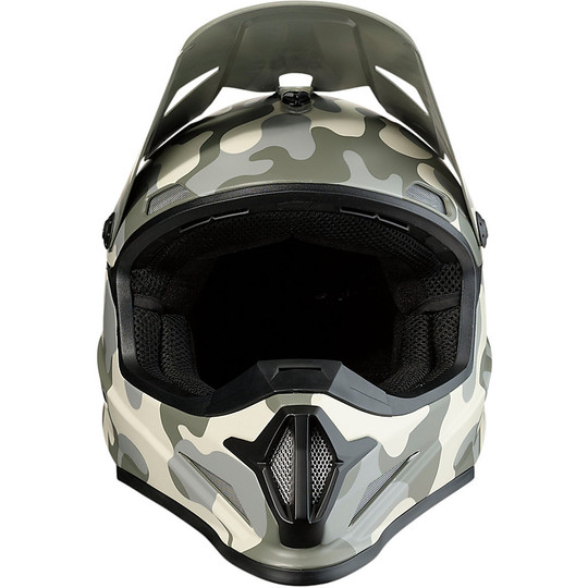 Casque Moto Cross Enduro Z1r RIse Camo Desert Camouflage
