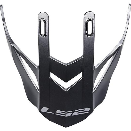 Casque Moto Cross Tesina Frontino Ls2 MX436 Pioneer Titanium Matt