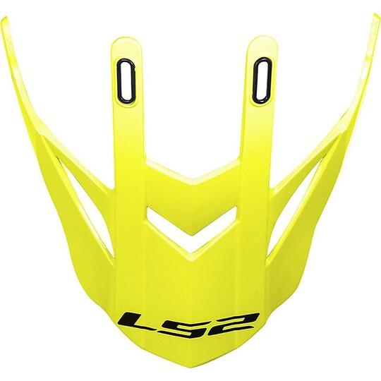 Casque Moto Cross Tesina Frontino Ls2 MX436 Pioneer Yellow Fluo