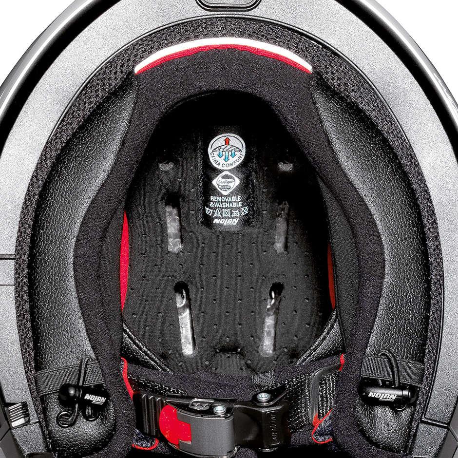 Casque Moto Crossover Nolan N70.2 GT LAKOTA N-Com 040 Imperator Matt Blue