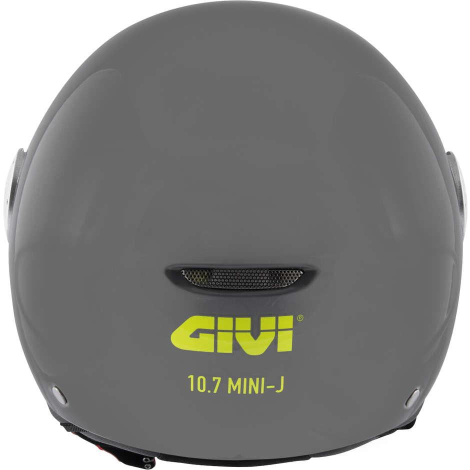 Casque Moto Demi Jet 10.7 MINI-J Nardò Gris