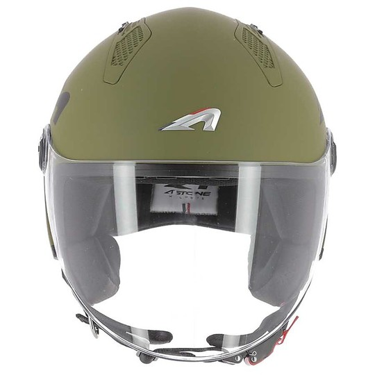 Casque Moto Demi-Jet Astone MINIJET LINK Kaki