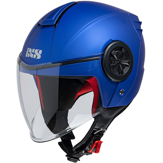 Casque moto Demi Jet iXS 851 1.0 Matt Blue