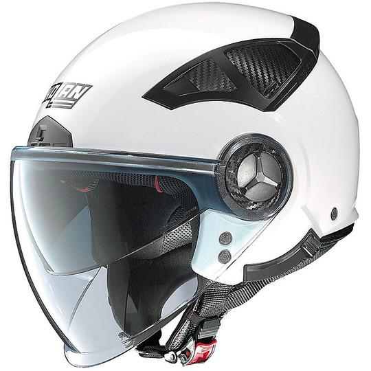 Casque Moto Demi Jet Nolan N33 Evo Classic 002 Glossy White