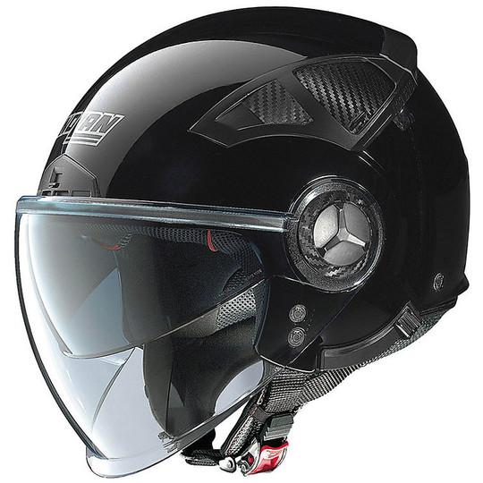 Casque moto Demi Jet Nolan N33 Evo Classic 003 Glossy Black