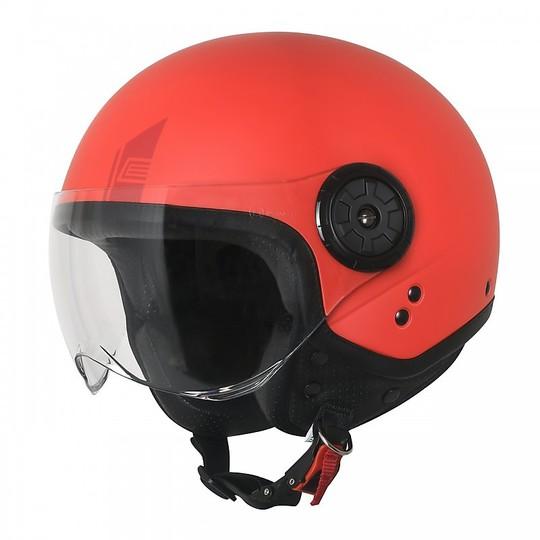 Casque moto Demi-Jet Origin NEON EASY Orange mat Fluo