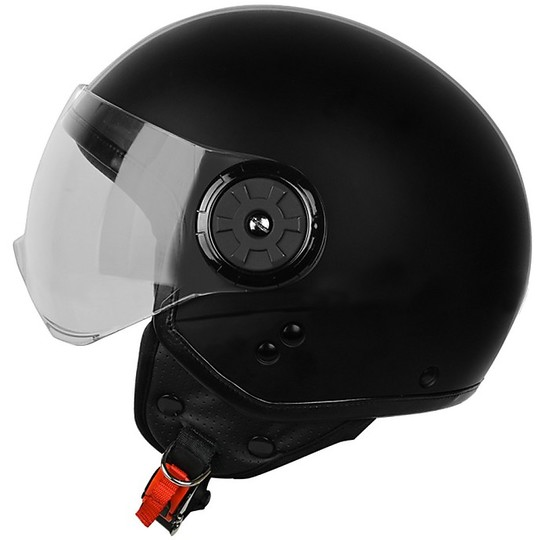 Casque moto Demi-Jet Origin Neon Solid Matt Black