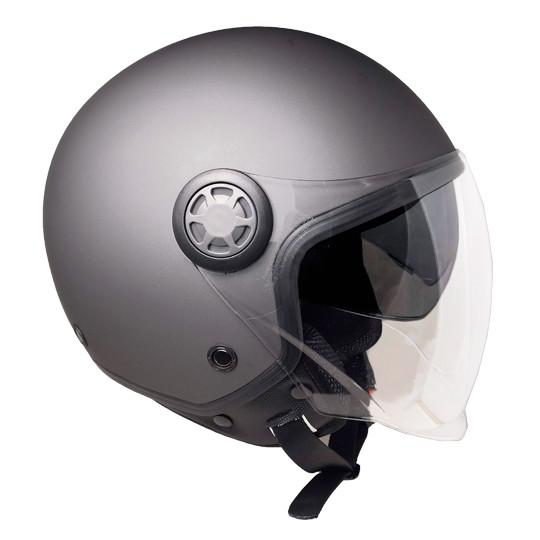 Casque moto Demi-Jet Ska-P 1SH ZED Mono Anthracite Matt