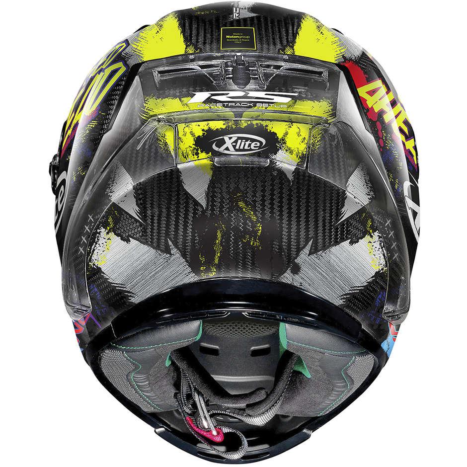 Casque Moto Full Carbon X-Lite X-803 RS Ultra Carbon HOLESHOT 034 Carbon