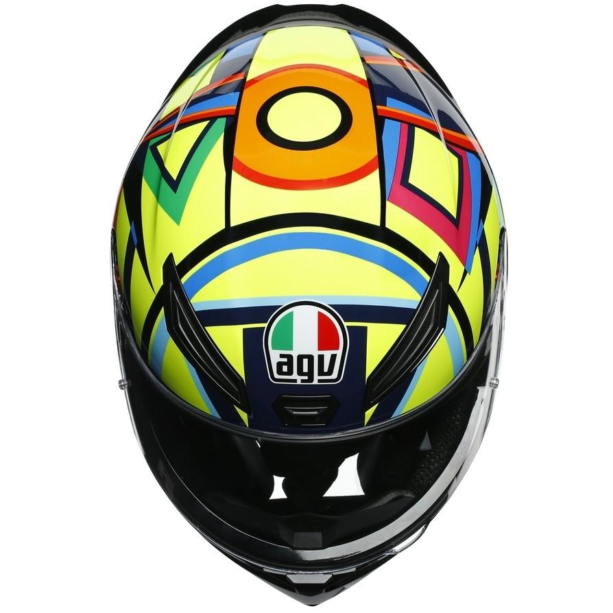 Casque moto intégral AGV K-1 Top SOLELUNA 2017
