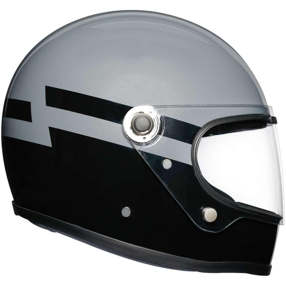 Casque Moto Intégral AGV Legend X3000 Multi SUPERBA Gris noir