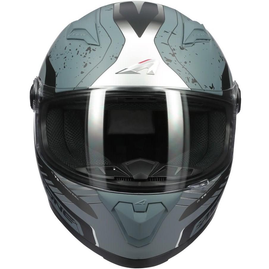 Casque Moto Intégral Astone GT2 GEKO Gris Foncé Opaque