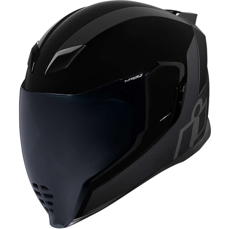 Casque Moto Intégral Double Visière Icon AIRFLITE Mips Stealth
