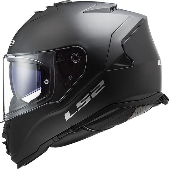 Casque Moto Intégral Double Visière Ls2 FF800 STORM Solid Matt Black