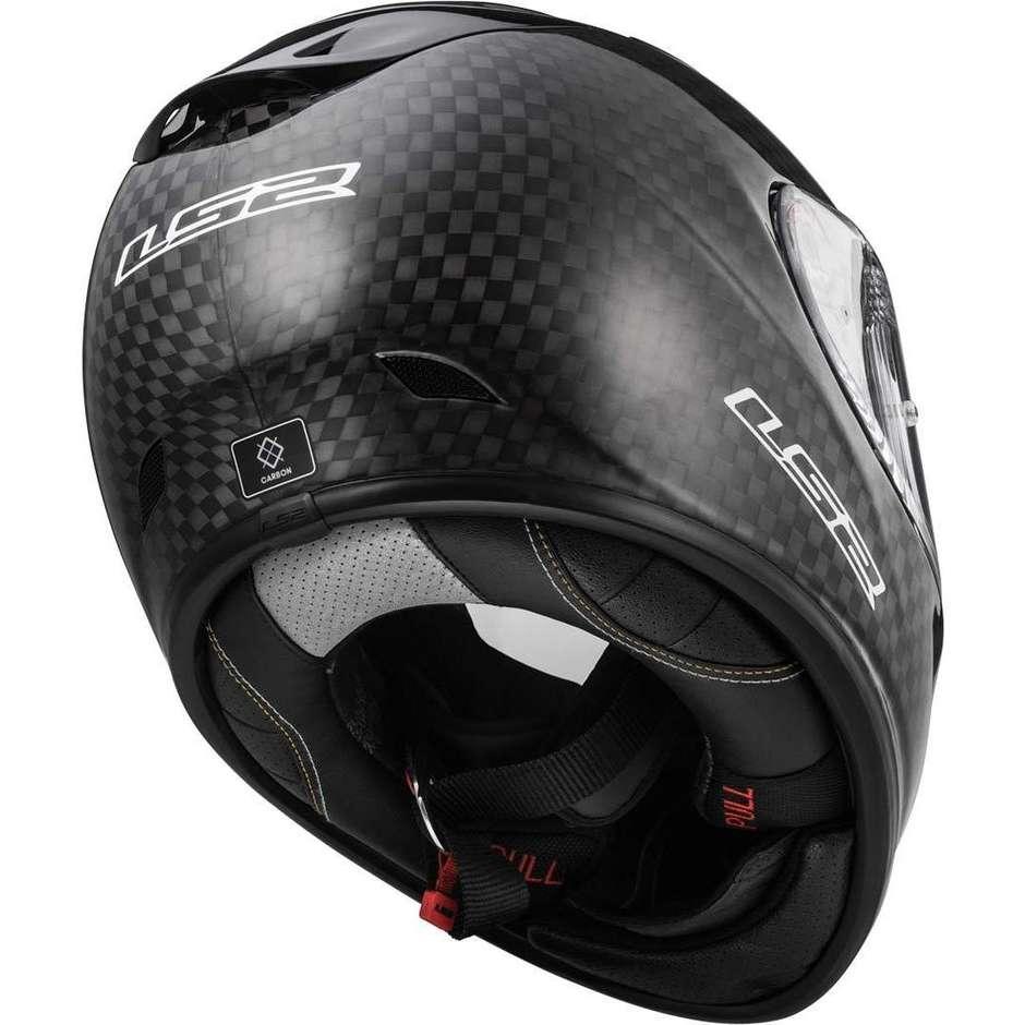 Casque Moto Intégral en Carbone Ls2 FF323 ARROW EVO C FIM Solid Carbon