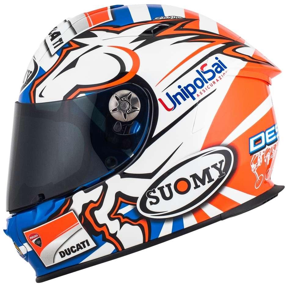 Casque moto intégral en fibre Suomy SR-SPORT DOVIZIOSO GP Replica Ducati
