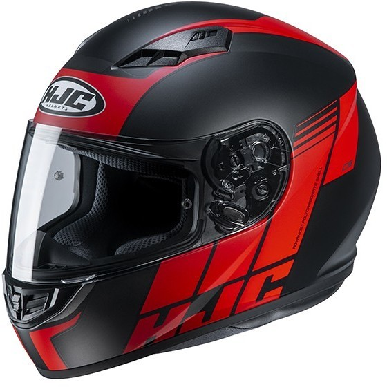Casque Moto Intégral HJC CS-15 MYLO MC1SF Noir Rouge Mat