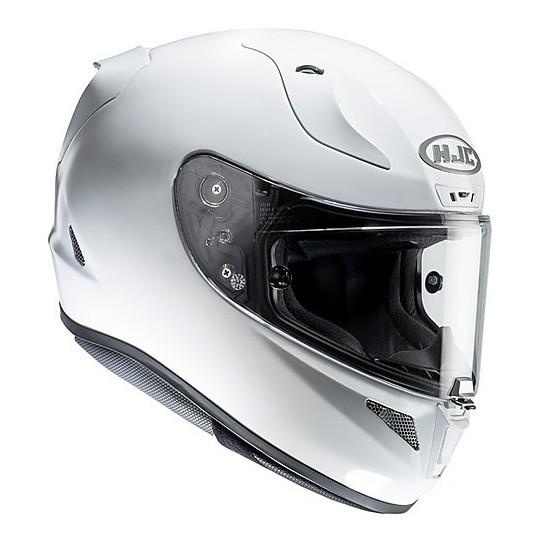 Casque moto intégral HJC RPHA 11 Blanc Nacré