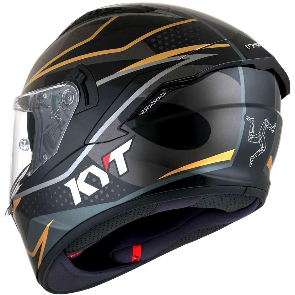 Casque moto intégral KYT NF-R DAVO REPLICA
