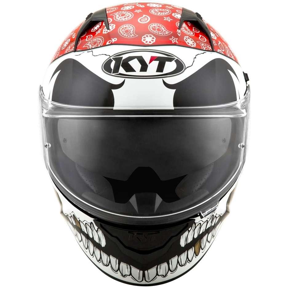 Casque moto intégral KYT NF-R PIRATE