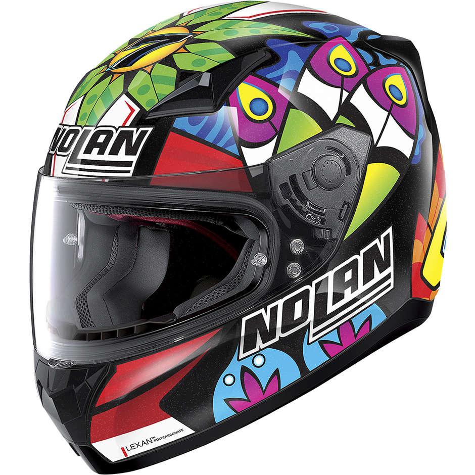Casque moto intégral Nolan N60.5 GEMINI REPLICA 085 C. Davies Black Metal