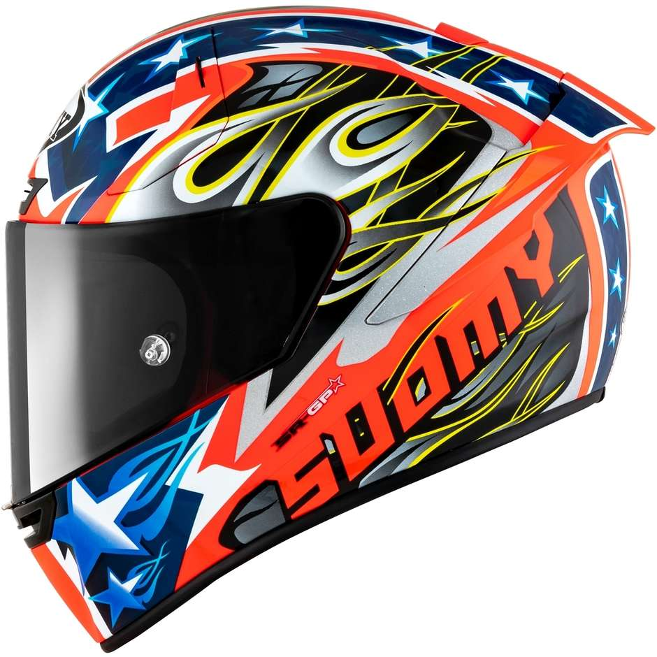Casque moto intégral Racing Suomy SR-GP GLORY RACE