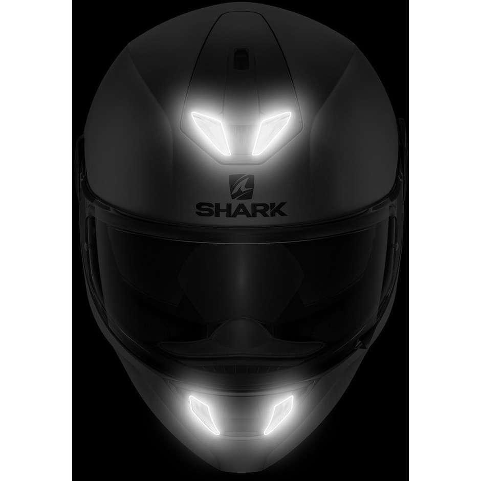 Casque Moto Intégral Shark SKWAL 2 Lynn Noir Blanc Anthracite