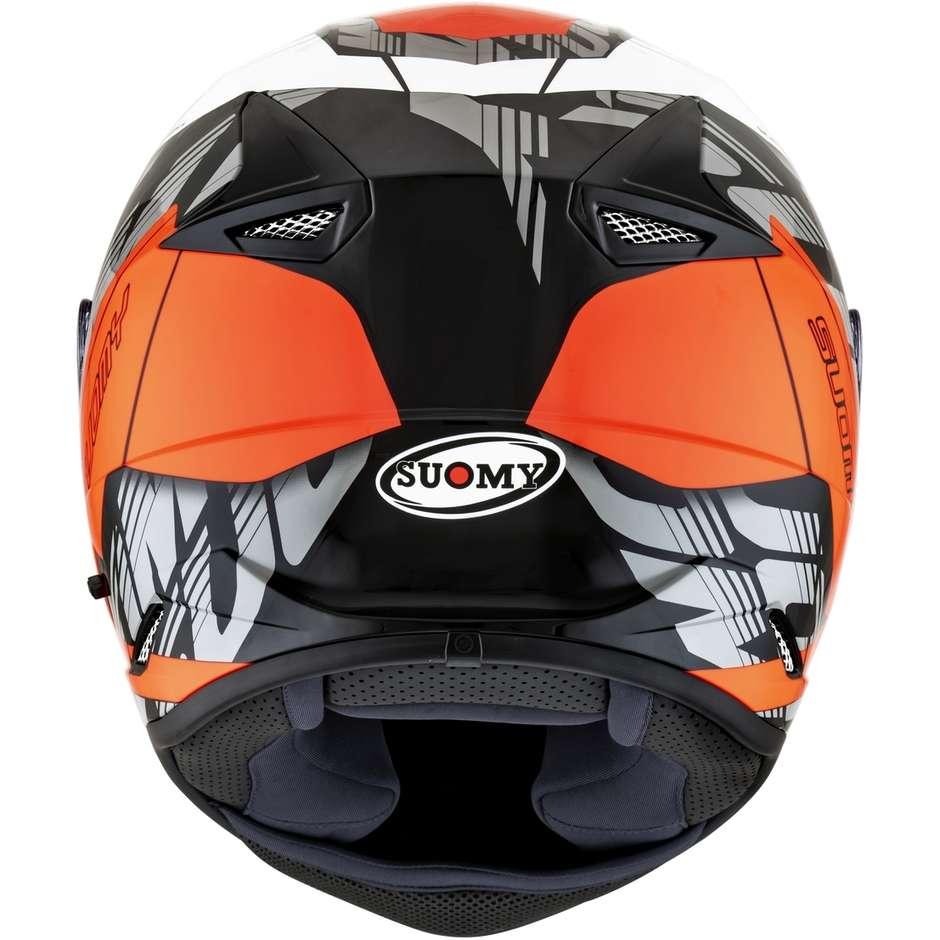 Casque moto intégral Suomy STELLAR CORNER Orange