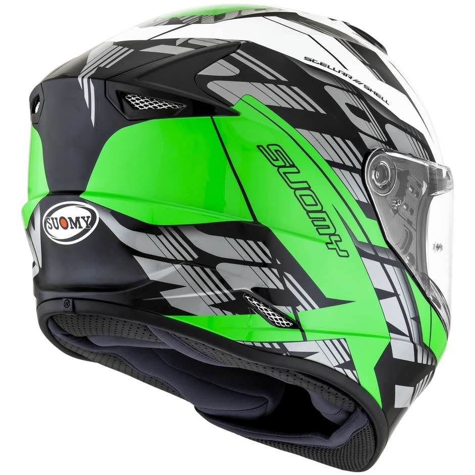Casque moto intégral Suomy STELLAR CORNER Vert