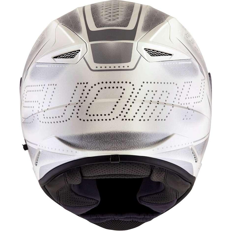 Casque moto intégral Suomy STELLAR SHADE Blanc Gris