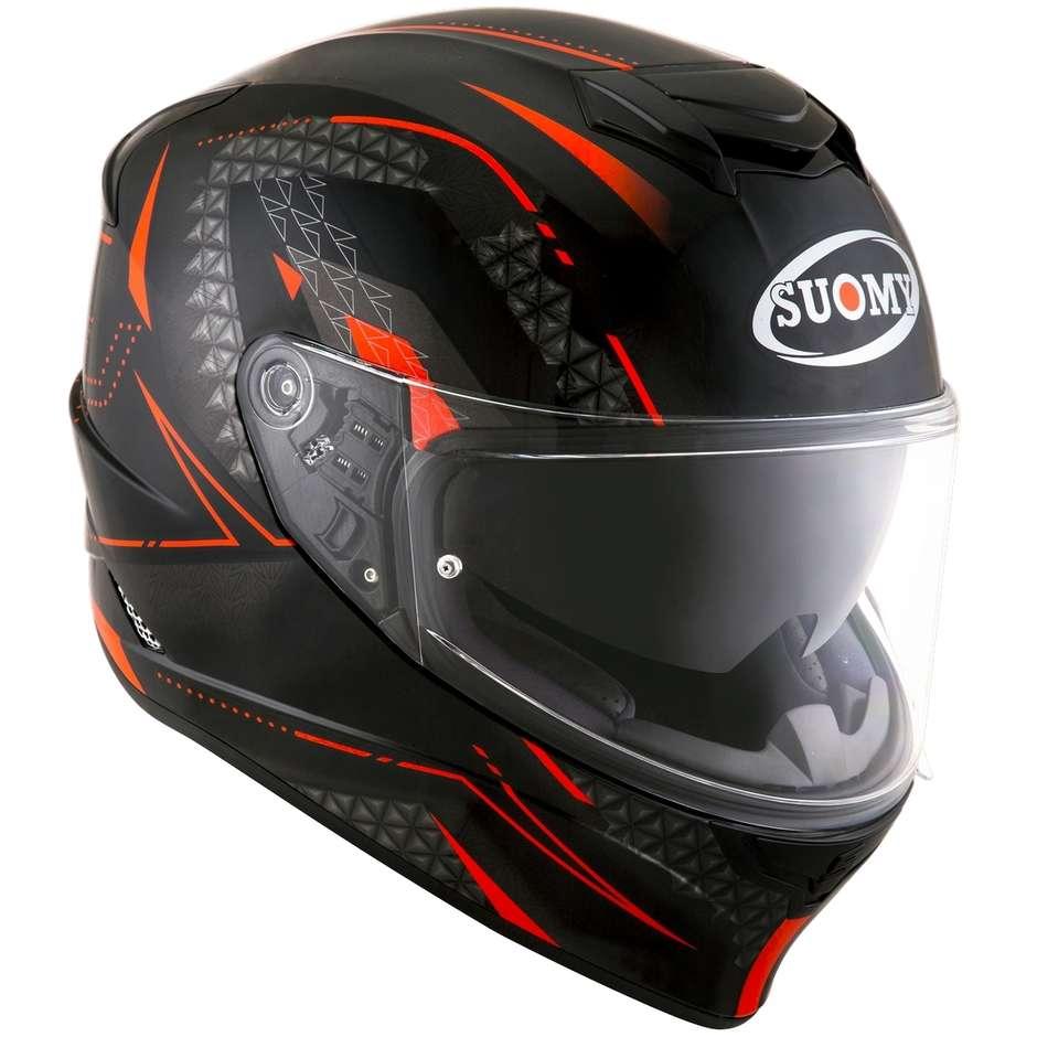 Casque moto intégral Suomy STELLAR SHADE Noir Rouge