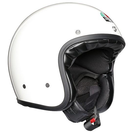 Casque moto Jet Agv Legend X70 Mono Glossy White