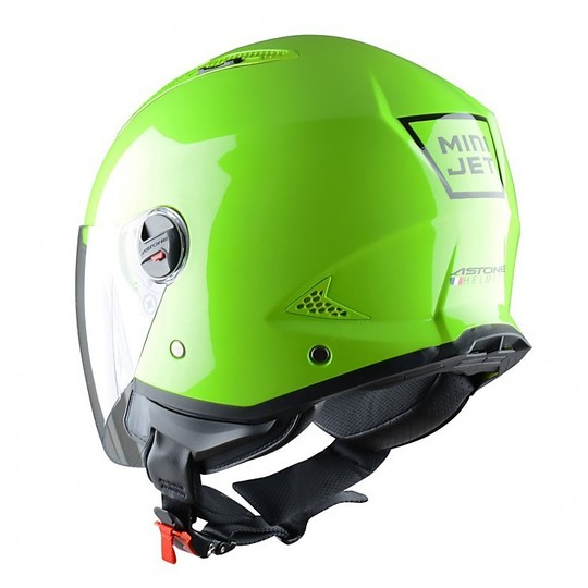 Casque Moto Jet Astone Minijet Apple