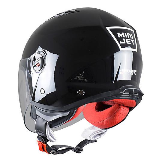 Casque Moto Jet Astone Minijet Glossy Black