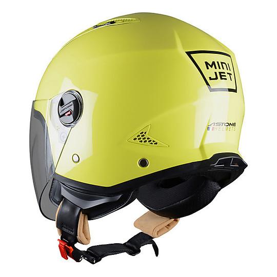 Casque Moto Jet Astone Minijet Lemon