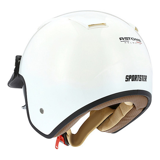 Casque moto Jet Astone Sportster Blanc