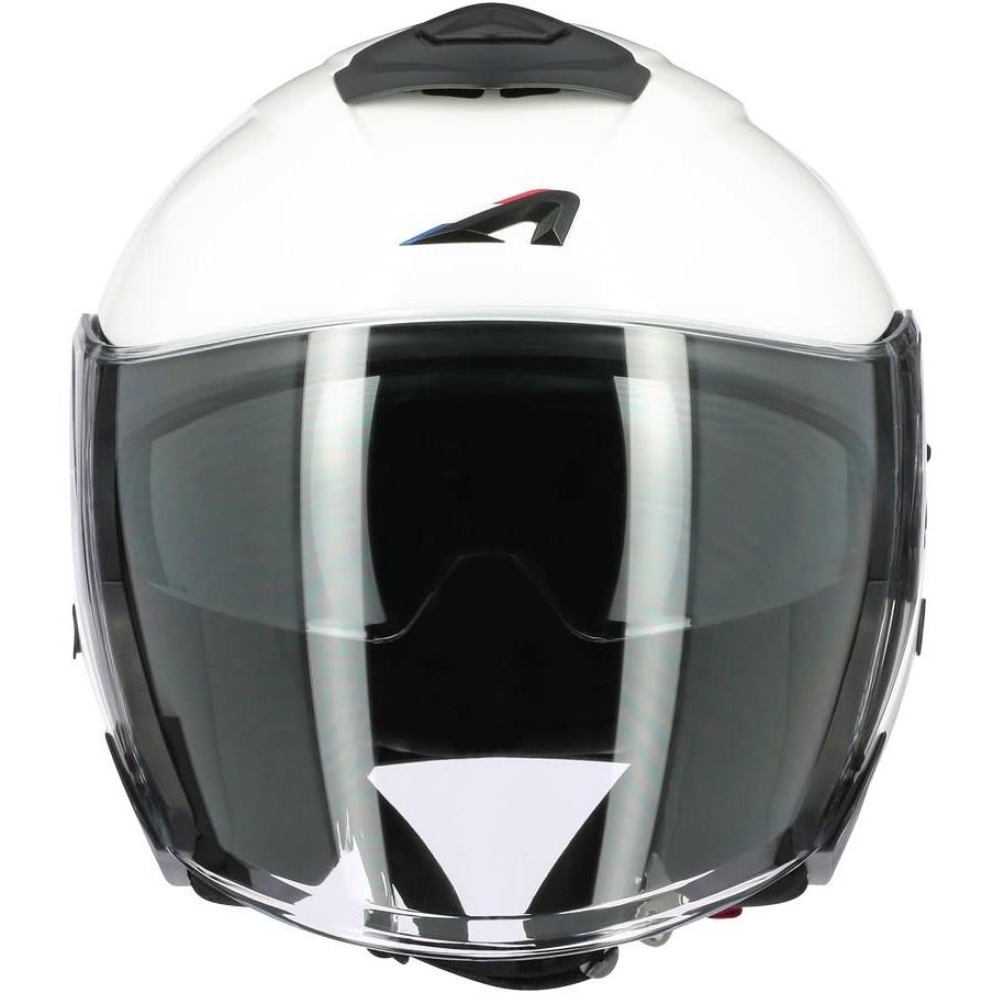 Casque Moto Jet Astone SUPERJET Monochrome Blanc