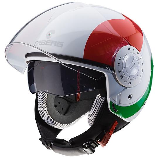Casque moto Jet Caberg Riviera V3 SWAY Italia