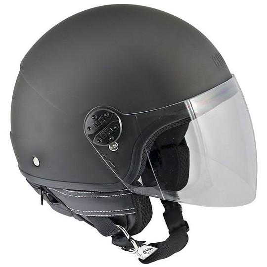 Casque moto Jet CGM 101a Nevada Matt Black