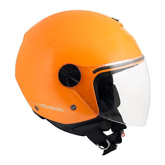 Casque moto Jet CGM 107A Florence Orange Metal