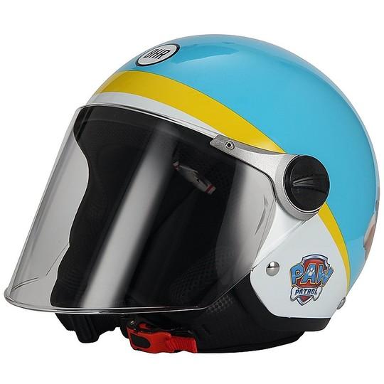 Casque moto Jet Child BHR 713 Nickelodeon Rubble Paw Patrol