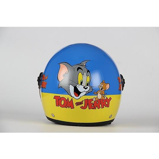 Casque moto Jet Child BHR 713 Warner Bros Tom & Jerry