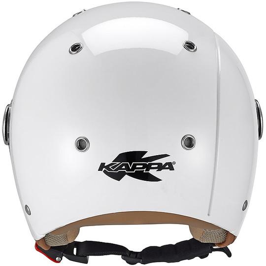 Casque Moto Jet Child Bubble J03 Glossy White