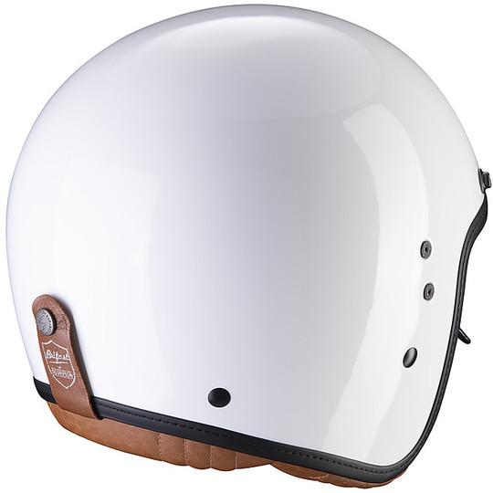 Casque moto Jet Custom Scorpion Belfast Luxe White