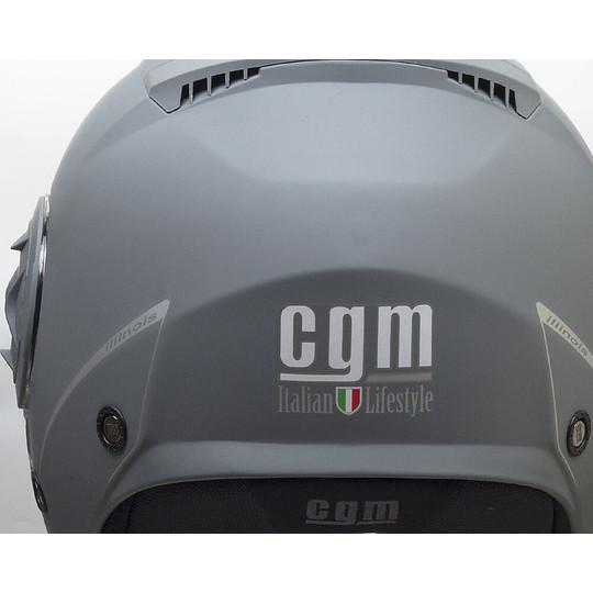 Casque Moto Jet Double Visor CGM 129a ILLINOIS Gris Mat
