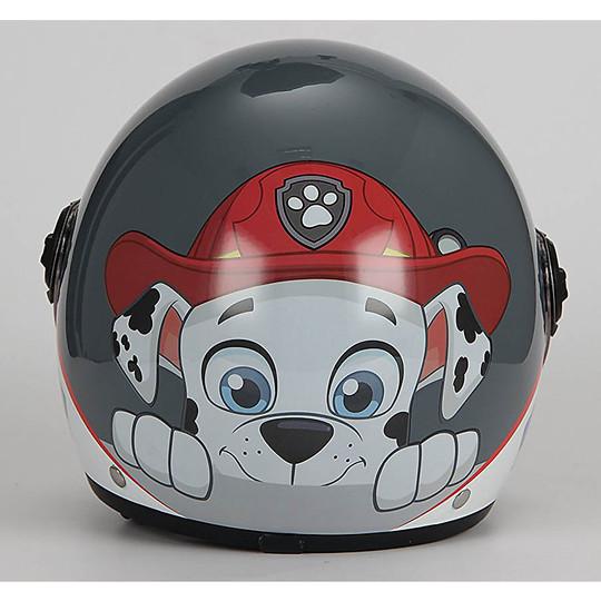 Casque Moto Jet Enfant BHR 713 Nickelodeon Marshal Paw Patrol